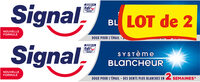 Signal Dentifrice Système Blancheur 2x75ml - Produto - fr