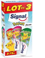 Signal Dentifrice Junior Pokémon 7+ Ans Menthe Douce 3x75ml - Produit - fr