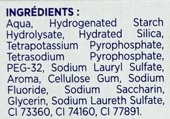 Anti-Tartre + deux sels minéraux - Ingredients - fr