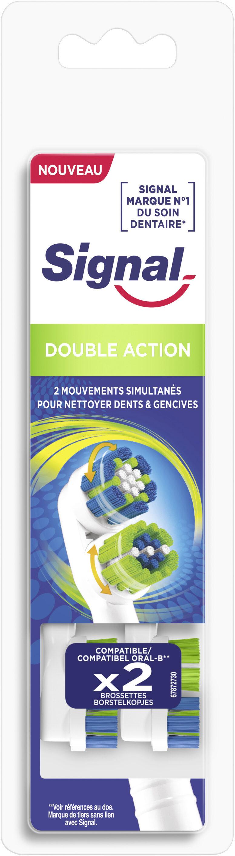 Signal Brossette Électrique Double Action x2 - Product - fr