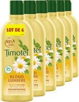 Timotei Blond Lumière Shampoing à l'Extrait de Camomille Lot 6x300ml - Produit - fr