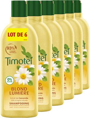 Timotei Blond Lumière Shampoing à l'Extrait de Camomille Lot - Product