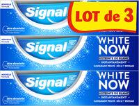 Signal White Now Dentifrice Original 3x75ml - Produto - fr