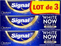 Signal White Now Dentifrice Gold 3x75ml - Produto - fr