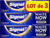 Signal White Now Dentifrice Blancheur Gold 3X75ml - Produit