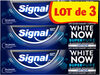 Signal White Now Dentifrice Blancheur Men Super Pure 3x75ML - Produit