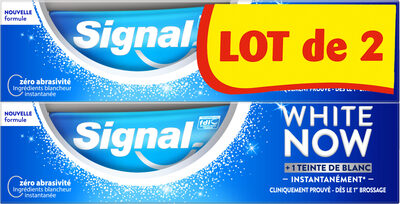 Signal White Now Dentifrice Original 2x75ml - Product - fr