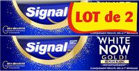 Signal White Now Dentifrice Gold 2x75ML - Produto - fr