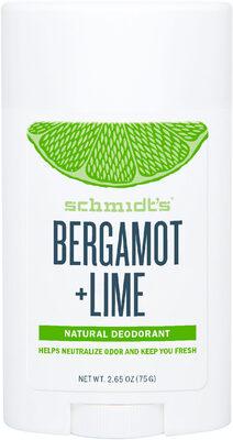 Schmidts Déodorant Stick Signature Bergamote + Citron Vert - Produit - fr