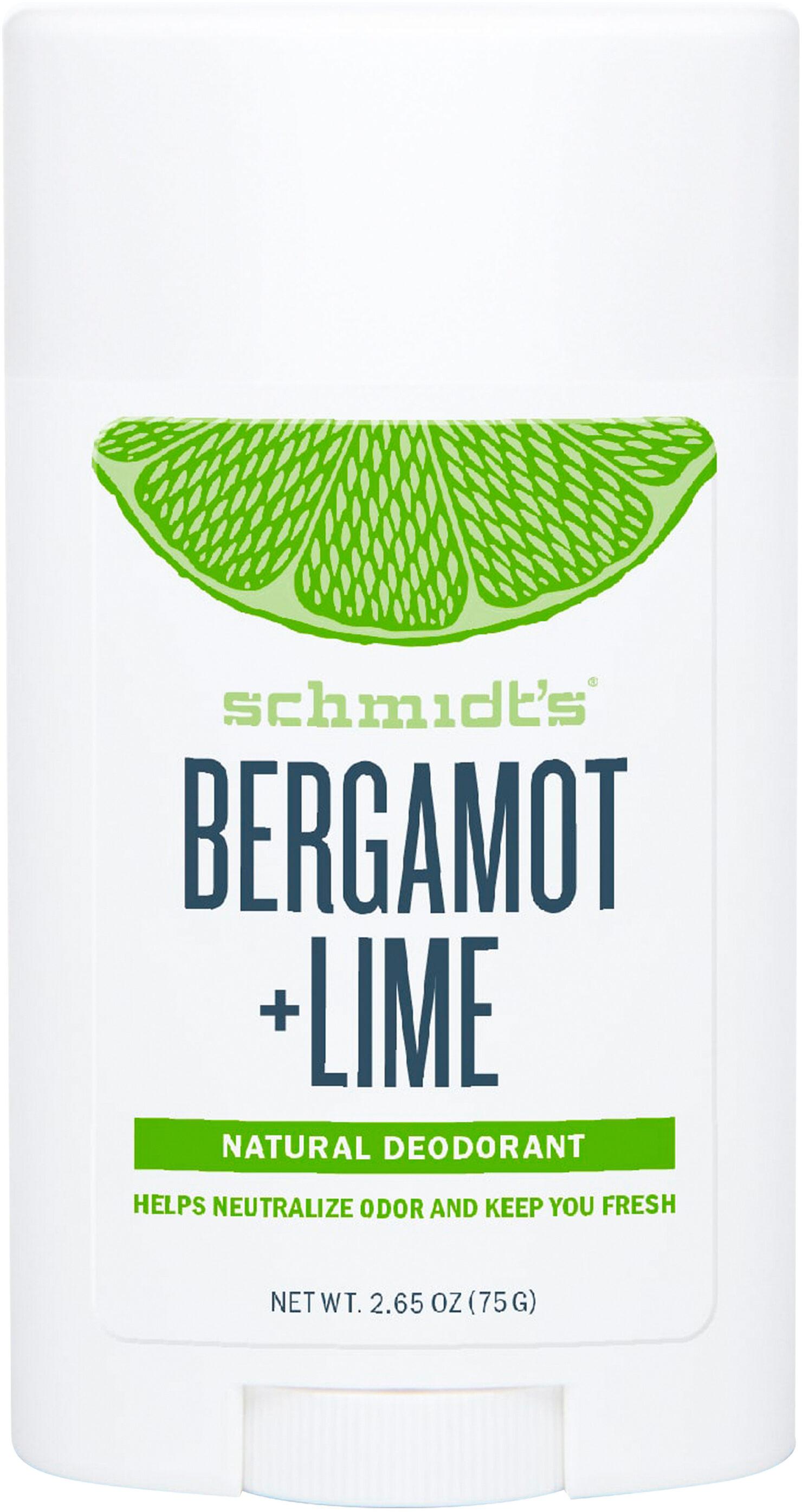 Schmidts Déodorant Stick Signature Bergamote + Citron Vert 58ml - Product - fr