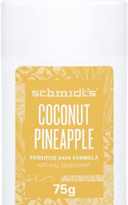 Schmidt's Déodorant Stick Peaux Sensibles Noix de Coco Ananas 92g - Product - fr