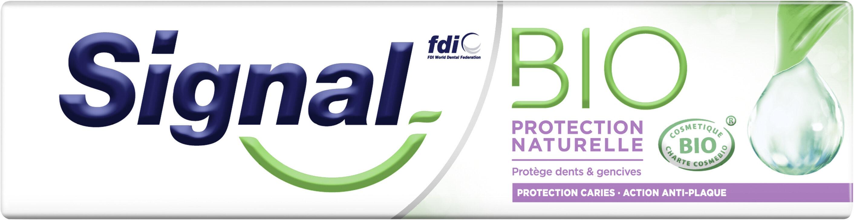 Signal Dentifrice Bio Protection Naturelle 75ml - Produit - fr
