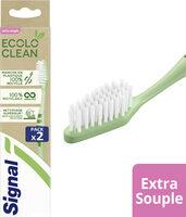Signal Ecolo Clean Brosse à Dent Extra Souple 2 Pièces - Product - fr