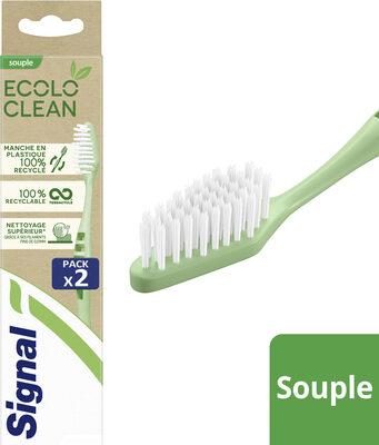 Signal Brosse à Dents Souple Ecolo Clean 2 Pièces - Product - fr