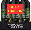 AXE Déodorant Homme Spray Wild Lot 6X150ml - Product