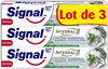 Signal Integral 8 Dentifrice Nature Elements Fraîcheur & Détox 3x75ml - Produit