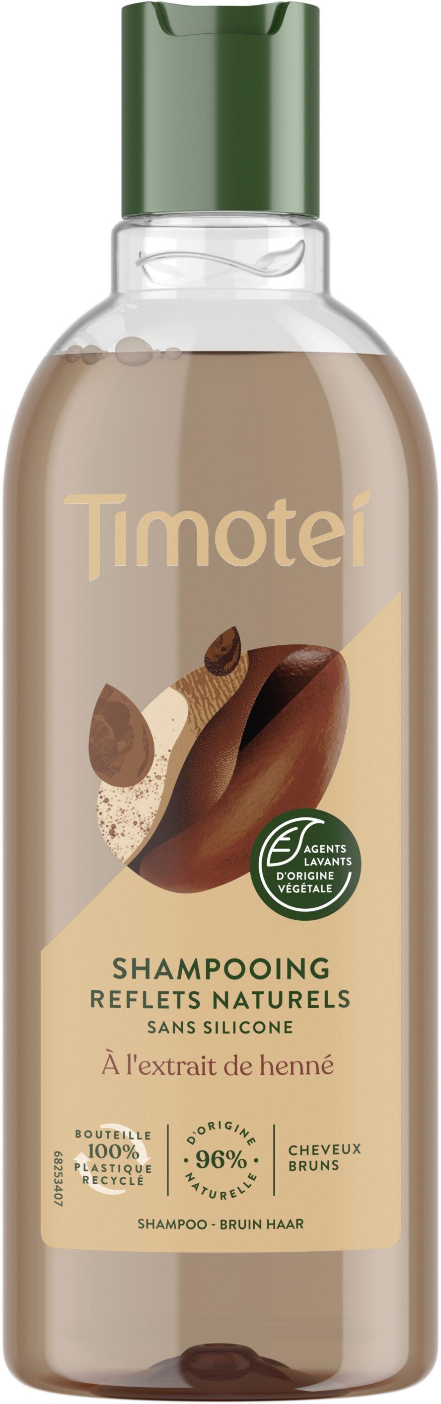 Timotei Shampooing Femme Reflets Naturels - Product - fr