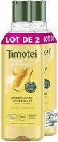 Timotei Shampooing Femme Huile d'argan bio et fleur de jasmin 2x300ml - Produit - fr