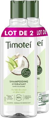 Timotei Shampooing Femme Lait de coco et aloe vera 2x300ml - Produit - fr