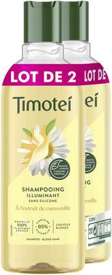 Timotei Shampooing Femme Camomille 2x300ml - Produit - fr