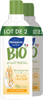 Monsavon Gel Douche Bio Vegan Lait Avoine Lot 2 x 300ml - Product - fr