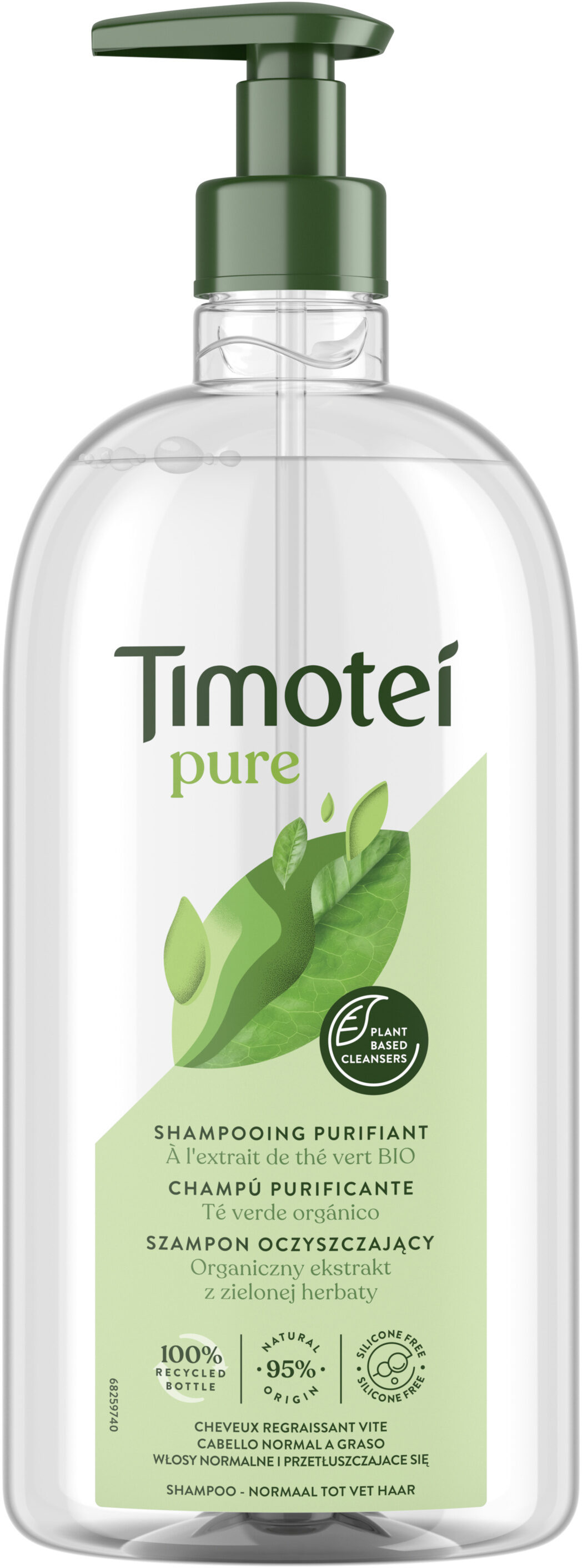Timotei Shampooing Femme Pure - Produit - fr