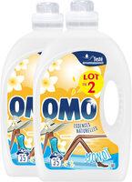 Omo Lessive Liquide Monoï Lot 2x1.925L - 70 Lavages - Product - fr