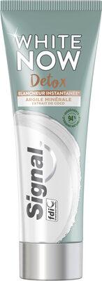 Signal White Now Dentifrice Blancheur Detox Argile & Coco - Product - fr