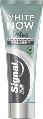 Signal White Now Dentifrice Blancheur Detox Argile & Charbon actif - Produit - fr