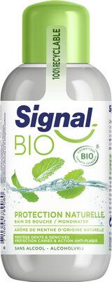Signal Bain de Bouche Bio Protection Naturelle Menthe - Product - fr