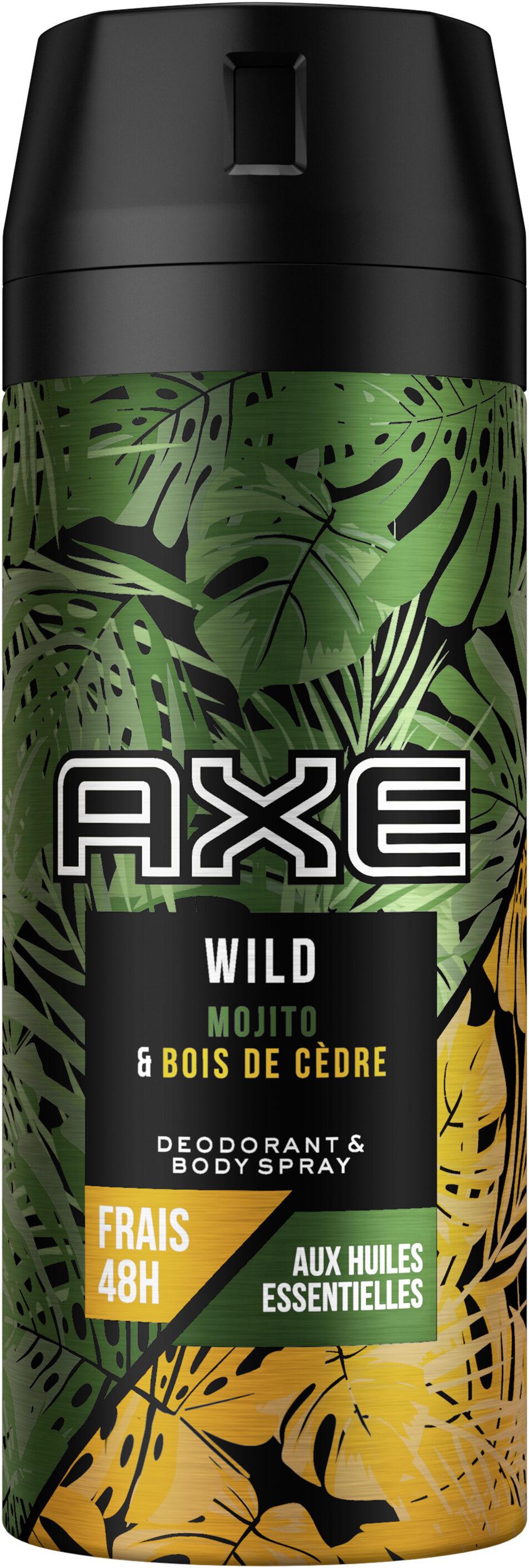 AXE Déodorant et Bodyspray Parfum Mojito & Bois de Cèdre - Product - fr