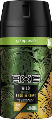 AXE Wild Déodorant Compressé Parfum Mojito & Bois de Cèdre - Product - fr