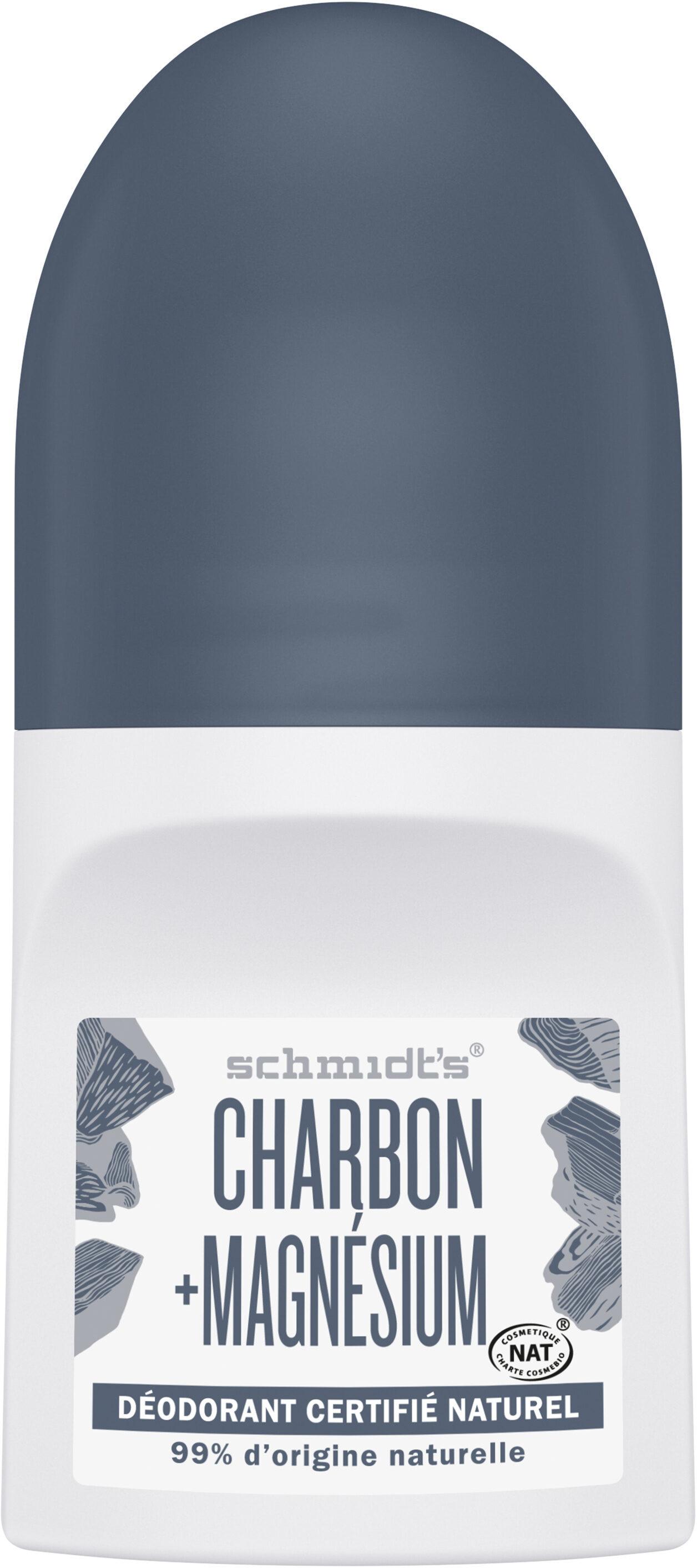 Schmidt's Déodorant Bille Charbon + Magnésium - Product - fr