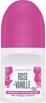 Schmidts Déodorant Bille Rose + Vanille - Product - fr