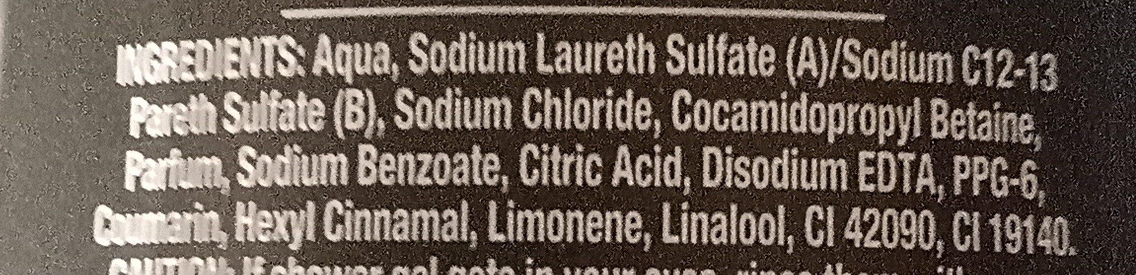 Lynx - Ingredients - en