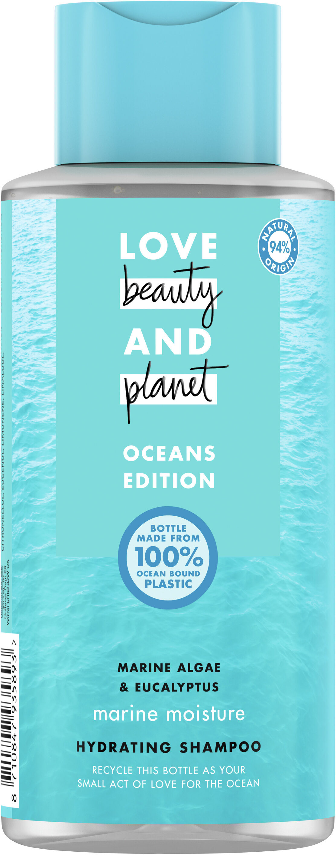 Love Beauty And Planet Shampooing Femme Fraîcheur Marine - Product - fr