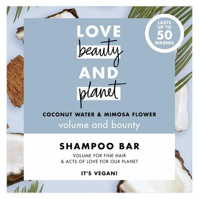 Love Beauty And Planet Shampooing Solide Vague Volumisante Eau de Coco & Fleur de Mimosa - 1