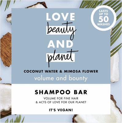 Love Beauty And Planet Shampooing Solide Vague Volumisante Eau de Coco & Fleur de Mimosa - Product