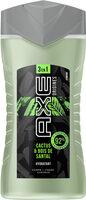 AXE Gel Douche Homme 3en1 Origines Cactus & Bois de Santal - Produit - fr