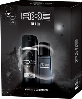 AXE Coffret Black Eau de Toilette 100ml & Déodorant 150ml x1 - Продукт - fr