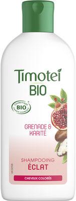 Timotei Bio Shampooing Femme Éclat Cheveux colorés Grenade & Karité - Product - fr