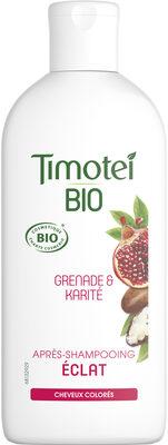 Timotei Bio Après-Shampooing Femme Éclat Cheveux colorés Grenade & Karité - Product - fr