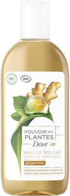 Dove Huile de Douche Pouvoir des Plantes Gingembre - Product - fr
