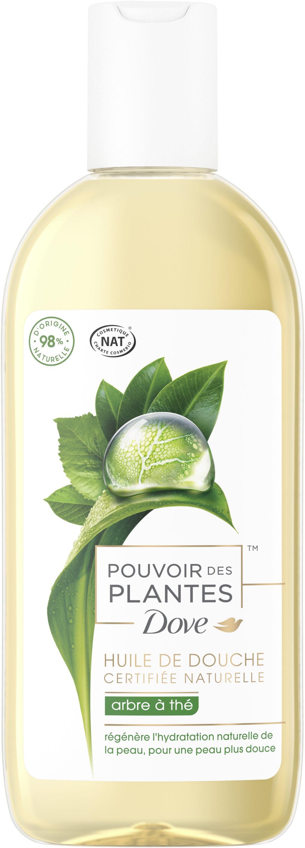 Dove Huile de Douche Pouvoir des Plantes Arbre à Thé - Product - fr