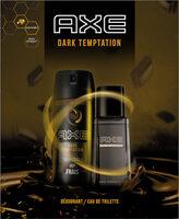 Axe Coffret Dark Temptation Homme Eau de Toilette 100ml & Déodorant 150ml x1 - Produit - fr