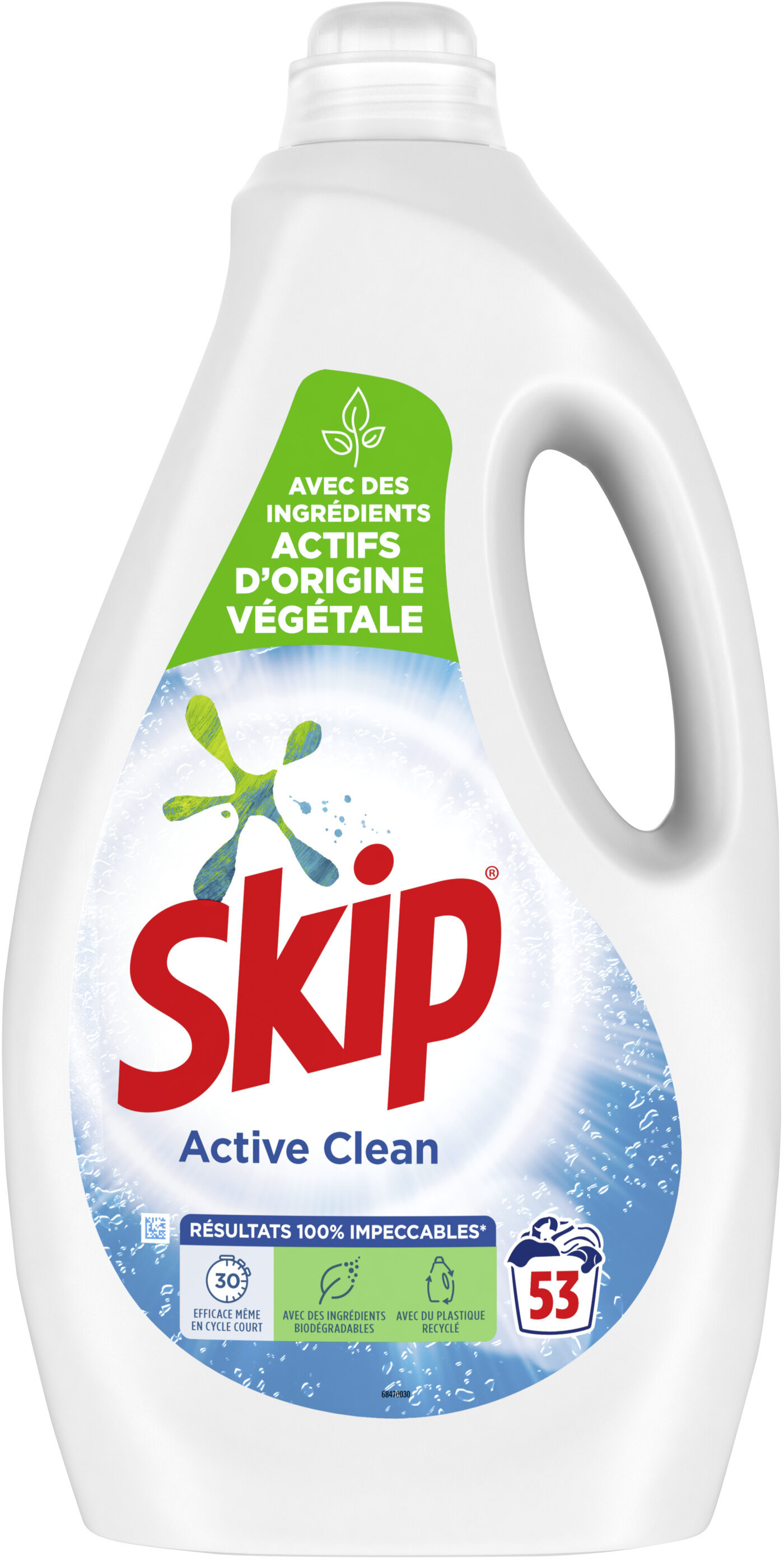 SKIP Lessive Liquide Active Clean 2,65l - 53 Lavages - Product - fr