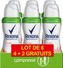 REXONA Déodorant Femme Spray Musc Compressé 100ml Lot de 6 - Product
