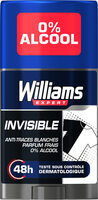 Williams Invisible Déodorant Homme Stick Antibactérien Protection 48h - Product - fr