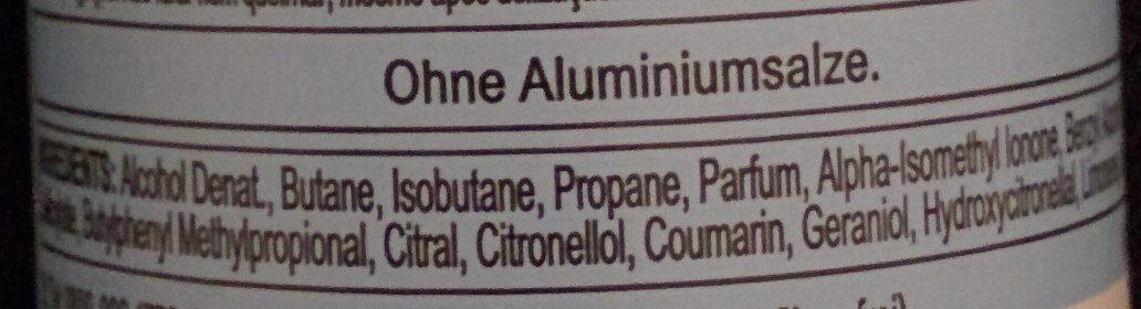 Active Fresh - Ingredients - de
