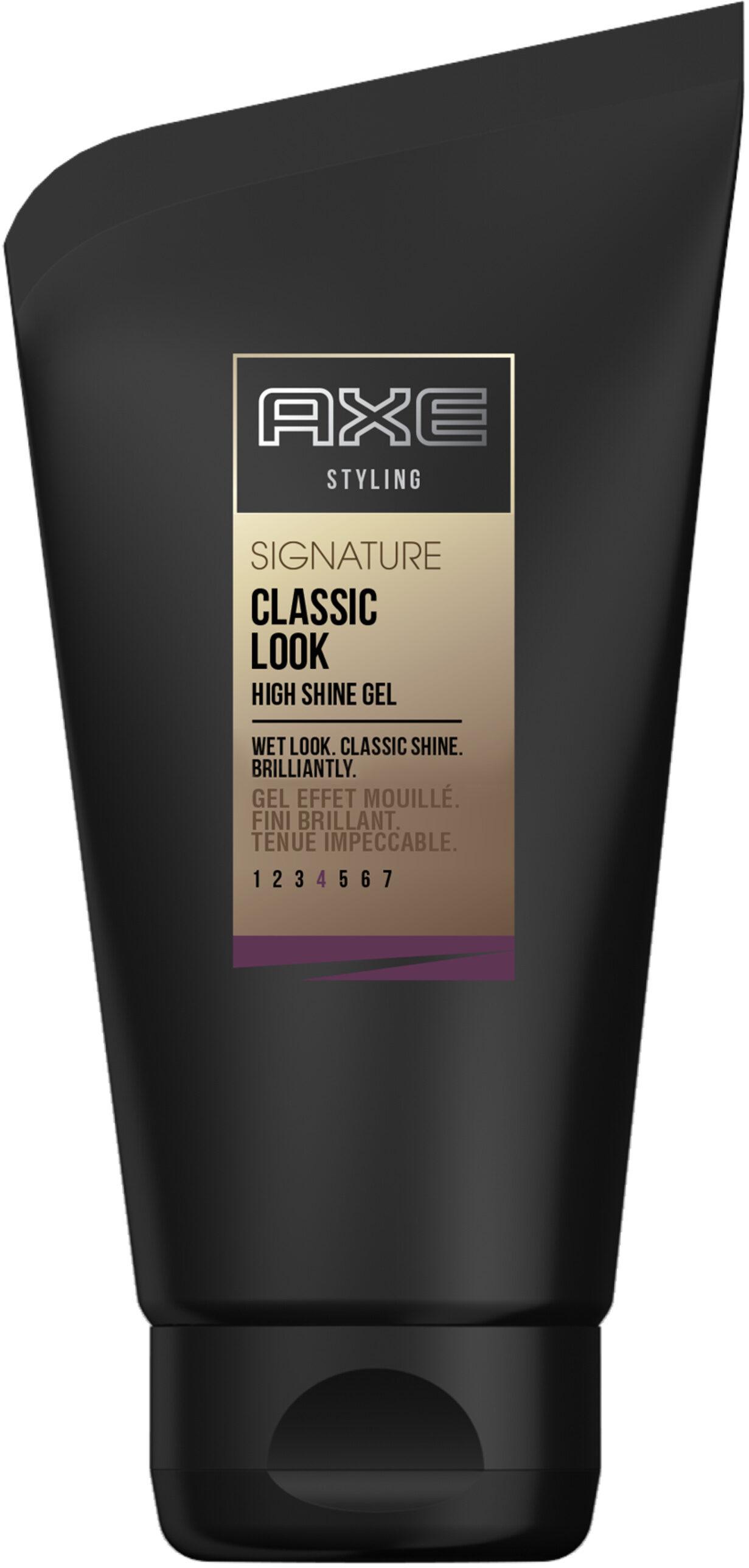 AXE Gel Cheveux Effet Mouillé Tube - Product - fr